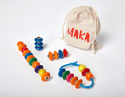 MAKA: a fidget toy for autistic children by Toby Whelan