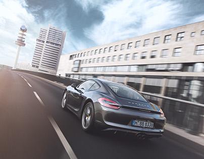 Konzeptkalender Porsche