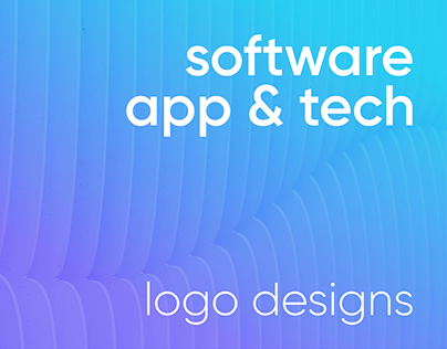 software, app & tech logo designs