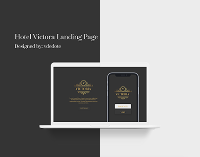 Hotel Victoria (Landing Page/Web Design/Website)