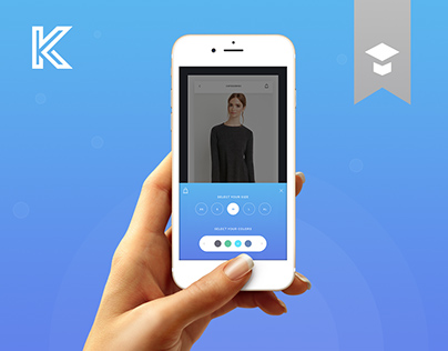 Knock – First mobile UI kit with Wireframe
