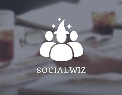 SocialWiz - Branding and Web Design