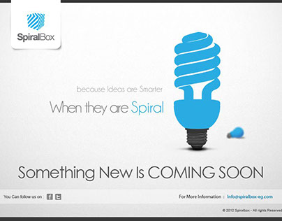 spiralbox comingsoon page