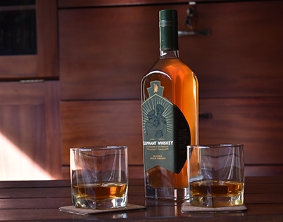 ELEPHANT WHISKEY- brand identity and packaging