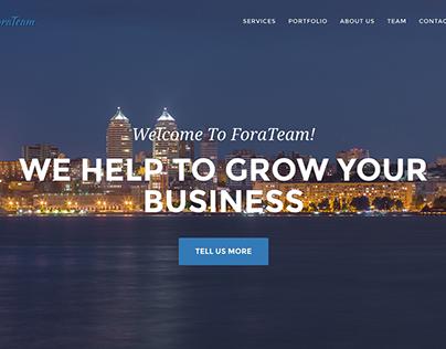 ForaTeam Web Studio