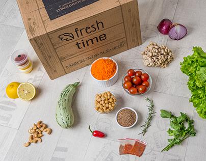 Embalagem para Kits Gastronômicos - Freshtime
