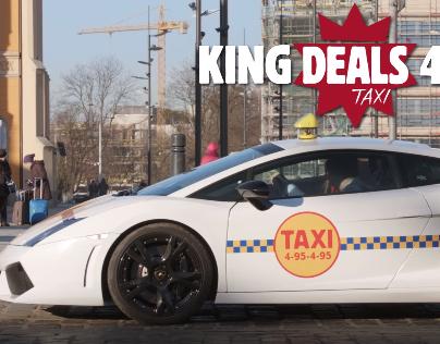 Burger King - KING DEALS TAXI