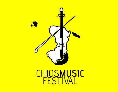 CHIOS MUSIC FESTIVAL logo & branding design