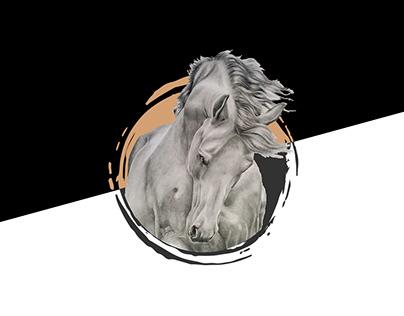 Lucky's Palette Logo Design