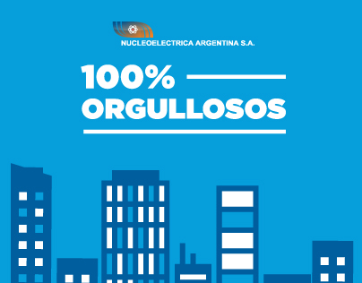 Nucleoeléctrica Argentina - 100% Orgullosos