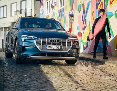 Audi e-tron on Tour.