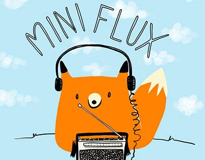 Mini Flux: children's radio mascot