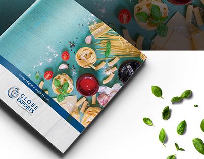 GLOBE EXPORTS ( Brand Identity Design )