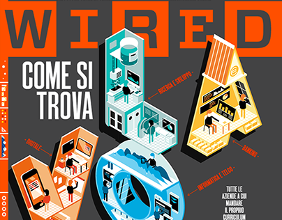 Wired Italy - The Job Issue [cover + animation]