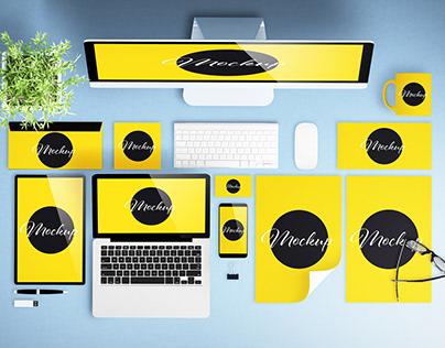 Top View Desktop Scene Creator