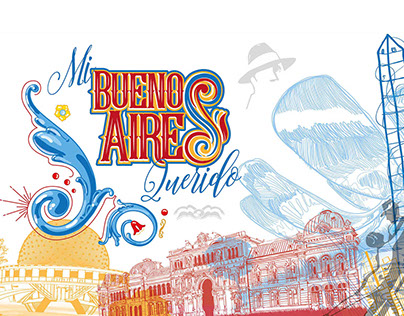 Mi Buenos Aires Querido. Cities Project. Illustrations