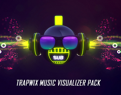 TrapWix Music Visualizer Pack