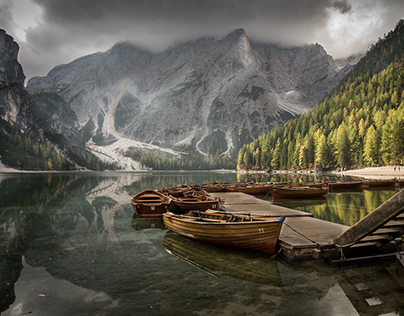 -Lakes at the Dolomites-