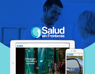 UX | UI Design for Salud sin Fronteras