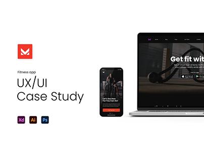 FitnessApp UX Case Study