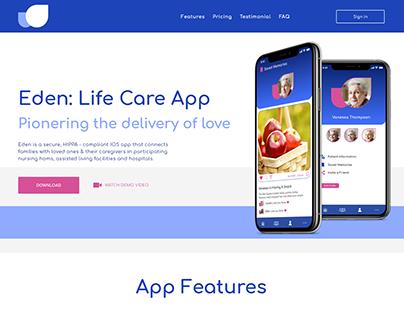 App Promo Homepage