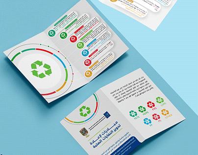Infographic 5R Recycling brochure - Gaza Municipality