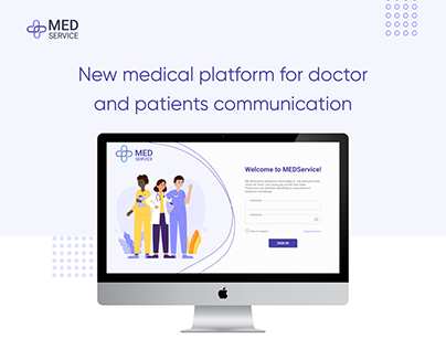 Medical platform for doctor and patients communication