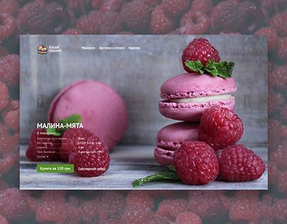 Landing page Website Concept UI/UX Design