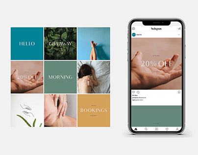 K N O T S - Massage Therapy Branding & Social Media