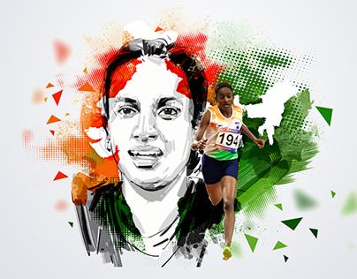 Gomathi Marimuthu - Asian Games 2019