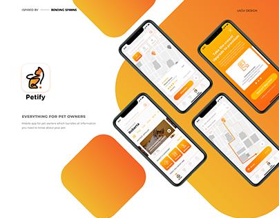 Petify – Designflow 2020