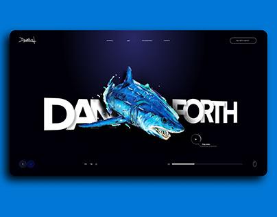 Danforth Art Selling E-Commerce Store UI UX