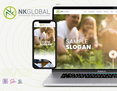 NK Global UI/UX Project