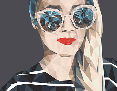 Vector Illustration Portrait