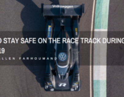 Samir Allen Farhoumand: Stay Safe on the Race Track