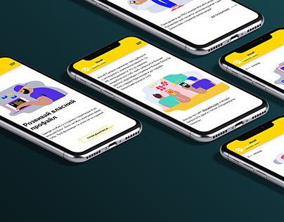 Self-running Digital Platform. Web & mobile UI/UX.