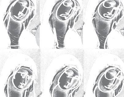 DARKCIRCLE SS18 - Dark Mary Print