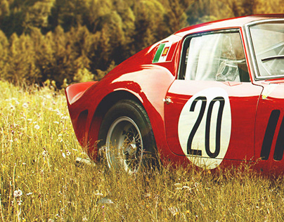 250GTO in the fields