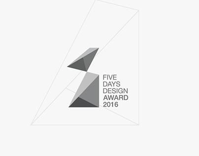 Five Days Design Award LOGO