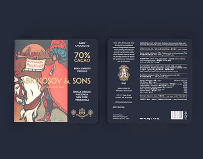 Abrikosov & Sons - Chocolate Packaging