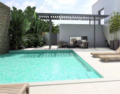 Smooth transitions garden (Lagos)