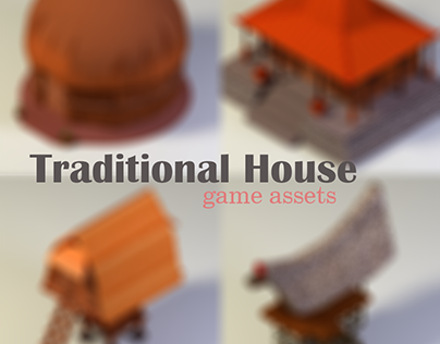 Traditional House 3D