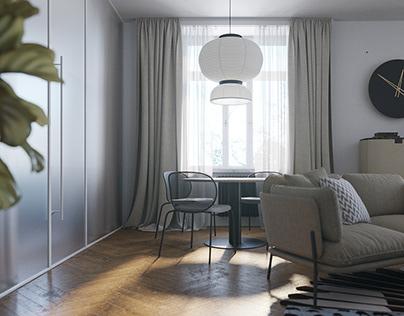 A unique apartment inLviv.