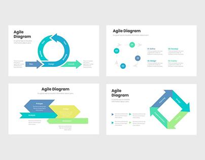 Agile Diagrams Infographics