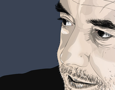 Vector Portrait of Pedro Marques Lopes