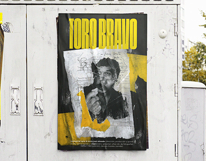 Toro Bravo ~ //movie//poster design
