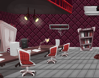 Sellbot Room Concept for Cog Invasion Online
