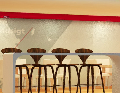 Mahindra : Cafeteria : Auto Expo 2018 pitch