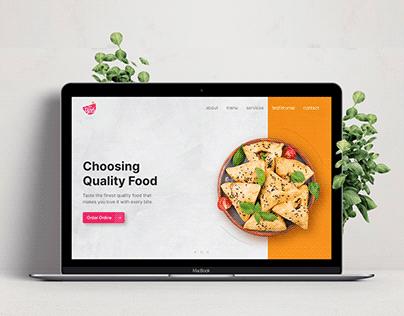 The Bowl - Restaurant Website Design