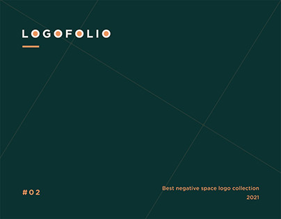 Logofolio #2   Best negative space logo collection